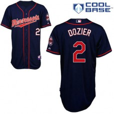 Cool Base Minnesota Twins #2 Brian Dozier Jersey