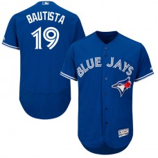 Toronto Blue Jays #19 Jose Bautista Royal Blue Flexbase Authentic Collection Jersey