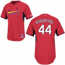 St. Louis Cardinals #44 Trevor Rosenthal Red Cool Base BP Jersey