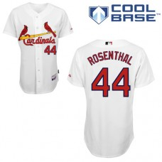 St. Louis Cardinals #44 Trevor Rosenthal White Cool Base Home Jersey