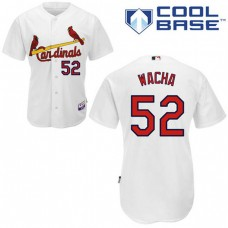 YOUTH St. Louis Cardinals #52 Michael WachaAuthentic White Home Cool Base Jersey