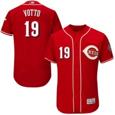Cincinnati Reds Joey Votto #19 Red Authentic Collection Flexbase Player Jersey