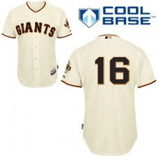 San Francisco Giants #16 Angel Pagan Authentic Cream Home Cool Base Jersey