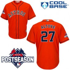 Houston Astros #27 Jose Altuve Red Cool Base Alternate Jersey