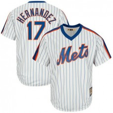Keith Hernandez #17 New York Mets Replica Cooperstown Collection White Cool Base Jersey