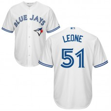 Toronto Blue Jays #51 Dominic Leone Home White Cool Base Jersey
