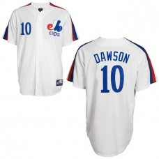 Montreal Expos #10 Andre Dawson White Jersey