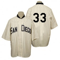 San Diego Padres #33 James Shields Cream 1936 Turn Back the Clock 80th Anniversary Jersey