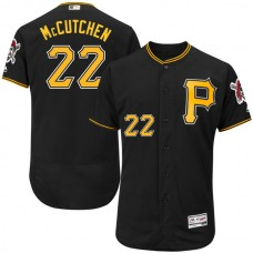 Pittsburgh Pirates #22 Andrew McCutchen Black Flexbase Authentic Collection Jersey
