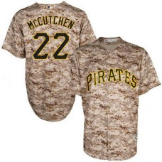 Pittsburgh Pirates #22 Andrew McCutchen Camo Official Cool Base Jersey
