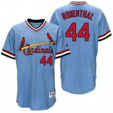 St. Louis Cardinals Trevor Rosenthal #44 Light Blue Authentic Turn Back the Clock Jersey