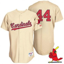 St. Louis Cardinals Trevor Rosenthal #44 Tan Turn Back the Clock Throwback Player Jersey