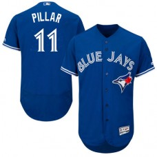 Toronto Blue Jays #11 Kevin Pillar Royal Flexbase Authentic Collection Jersey