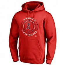 Angeles Firefighter Red Pullover Hoodie
