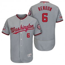 Nationals #6 Anthony Rendon Road Player Flex Base Jersey 2018 All-Star Game
