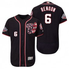 Nationals #6 Anthony Rendon Player Flex Base Jersey 2018 All-Star Game