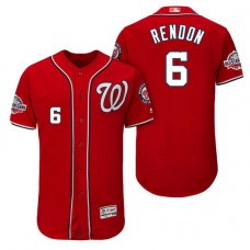 Nationals #6 Anthony Rendon Alternate Player Flex Base Jersey 2018 All-Star Game