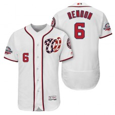 Nationals #6 Anthony Rendon Home Alternate Player Flex Base Jersey 2018 All-Star Game