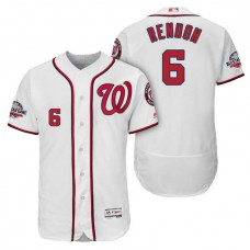Nationals #6 Anthony Rendon Home Player Flex Base Jersey 2018 All-Star Game