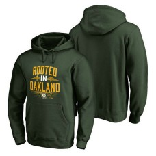Oakland Athletics Hometown Collection Rooted Pullover Green Hoodie