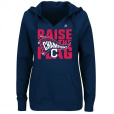 Cleveland Indians 2016 American League Champions Navy Pullover Hoodie