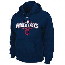 Cleveland Indians 2016 World Series Bound Big & Tall Navy Pullover Hoodie