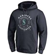 Mariners Firefighter Navy Pullover Hoodie
