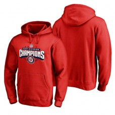 Washington Nationals 2017 Division Champions Assist Pullover Red Hoodie