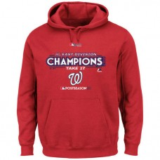 Washington Nationals 2017 Division Champions Locker Room Red Hoodie