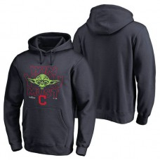 Cleveland Indians Navy 2017 Postseason Star Wars Win You Must Pullover Hoodie