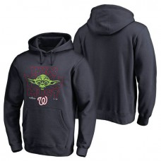Washington Nationals Navy 2017 Postseason Star Wars Win You Must Pullover Hoodie