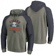 Detroit Tigers Heather Gray Star Wars Empire hoodie