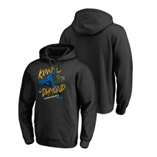 Oakland Athletics Marvel Black Panther Black King of the Diamond Fanatics Branded Hoodie