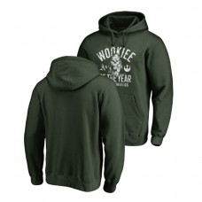 Oakland Athletics Fanatics Branded Green Star Wars Wookiee Of The Year Hoodie