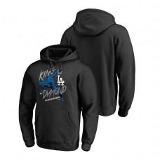 Los Angeles Dodgers Marvel Black Panther Black King of the Diamond Fanatics Branded Hoodie