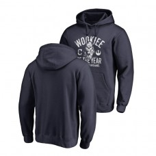 Cleveland Indians Fanatics Branded Navy Star Wars Wookiee Of The Year Hoodie