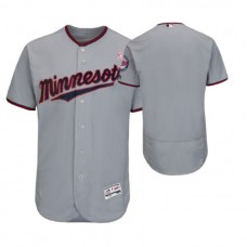 Minnesota Twins Gray Jersey 2018 Mother's Day