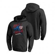 Washington Nationals Marvel Black Panther Black King of the Diamond Fanatics Branded Hoodie