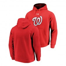 Washington Nationals Commitment Performance Red Team Mark Hoodie