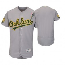 Oakland Athletics Gray Jersey 2018 Mother's Day
