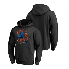 Detroit Tigers Marvel Black Panther Black King of the Diamond Fanatics Branded Hoodie