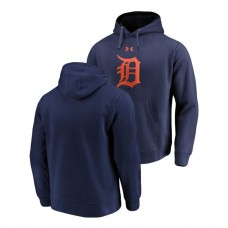 Detroit Tigers Commitment Performance Navy Team Mark Hoodie