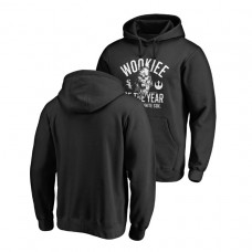 Chicago White Sox Fanatics Branded Black Star Wars Wookiee Of The Year Hoodie