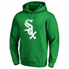 Chicago White Sox Kelly Green St. Patrick's Day White Logo Pullover Hoodie