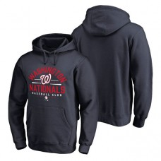 Washington Nationals Hometown Collection Nats Lockup Pullover Navy Hoodie