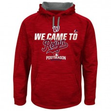 Nationals Red 2016 Postseason Came To Reign Hoodie