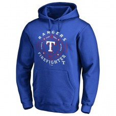 Rangers Firefighter Royal Pullover Hoodie