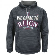Rangers Graphite 2016 Postseason Came To Reign Hoodie