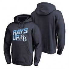Tampa Bay Rays Hometown Collection Rays Up Pullover Navy Hoodie