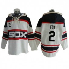 Chicago White Sox Nellie Fox #2 Throwback Player Pullover Hoodie